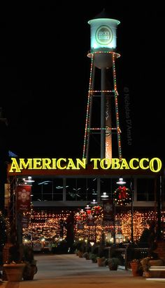 American Tobacco District - Durham, NC.