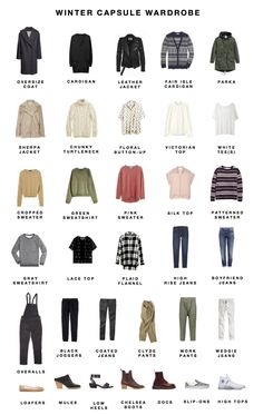 Winter 2016 capsule wardrobe I think I'm really establishing a strong outerwear game, which feels pretty great for winter. Wardrobe Sets, Capsule Wardrobe, Capsule Clothing, Capsule Outfits, Wardrobe Basics, Minimalist Wardrobe, Minimalist Fashion, Warm Outfits, Winter Outfits