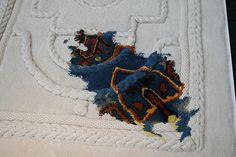 Judith_Watson_Wool_Rug_New_Designers. Hand tuftes wool rug