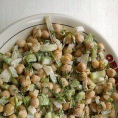 ckickpea salad!!! it's amazing!!!!