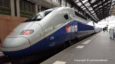 Renfe-SNCF high-speed train - The perfect way to travel from Paris to Barcelona #travelblog #highspeedtrain #france #Spain
