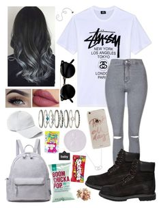 """""""OutFit #296"""" by raphaele-princesa on Polyvore featuring Stussy, Topshop, Timberland, rag & bone, Sonix, Accessorize, Tiffany & Co. and Fitz & Floyd"""