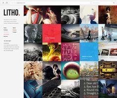 Litho | WordPress Theme on Behance