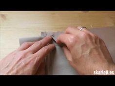 Cómo coser un bolsillo de ojal - Tutorial - Skarlett Costura