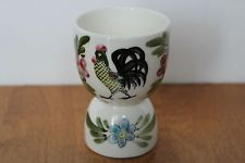 VINTAGE DOUBLE EGG CUP WITH ROOSTER MADE IN JAPAN