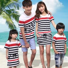 Couple With Baby, Matching Family Outfits, Korean, Daughter, Couples, Kids, Style, Fashion, Like Father Like Daughter