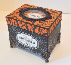 Seeing Things: Halloween Recipe Box Tutorial - Part One