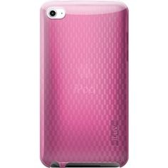 Pink Flexi-Clear TPU Case With Pattern For iPod® touch 2G/3G  iLuv ICC615PNK  PRICE DROP!    Price: $12.14