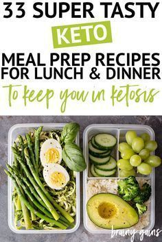 One of the easiest ways to stay on track with your health and fitness goals is through meal prep. These keto meal prep recipes are perfect for lunch and dinner and are sure to satisfy your taste buds, while ensuring you don't overeat and gain weight. Diet Plan Menu, Keto Meal Plan, Diet Meal Plans, Meal Prep, Diet Dinner Recipes, Diet Recipes, Vegetarian Recipes, Going Vegetarian, Smoothie Recipes