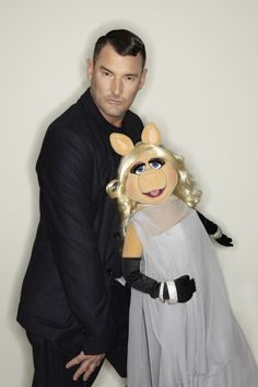 Miss Piggy with Michalsky