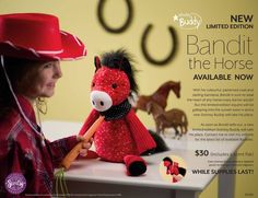 Our new Scentsy Buddy, Bandit the Horse has a colorful, patterned coat and darling bandana. Bandit is sure to steal the heart of any horse-crazy kid (or adult). Scentsy, Scented Wax Warmer, Wax Warmers, Crazy Kids, Coat Patterns, The Fresh, Gifts For Kids, The Help, Teddy Bear