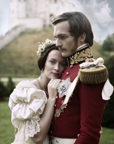 "Victoria and Albert in ""The Young Victorian"". Love this movie, super romantic!"