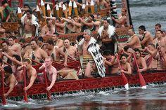 The last day of of the anniversary of the Kingitangi movement was celebrated with a haka on the Waikato by a flotilla of Maori waka follwed by a haka in front of King Tuheitia on the Turangawaewae marae at Ngaruawahia Maori People, Tribal People, Waitangi Day, Nz All Blacks, Maori Tribe, Aboriginal Culture, Nz Art, Maori Art, South Island