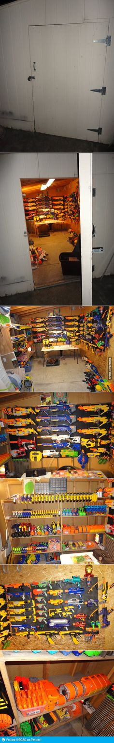 I now know my new nerf collection ambitions