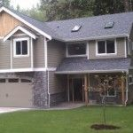 This magnificent Sudden Valley, WA home uses our radiant heating panels in each room. The owner, Jake Marriott, used all of the hardwood trees on site for the flooring, trim, and even the kitchen cabinets!  www.heatinggreen.com