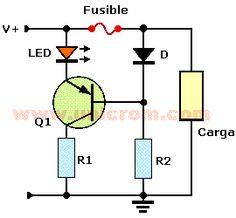 Indicador de fusible quemado con un transistor - Electrónica Unicrom