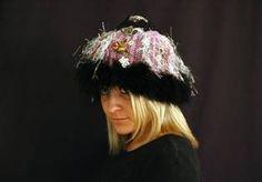 Genna Miles crochet art hats