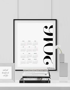 5 Inexpensive Printable Calendars for 2016 5 Inexpensive Printable Calendars for 2016 minimal black and white design- Hege in France Print Calendar, 2016 Calendar, Calendar Ideas, Desktop Calendar, Kalender Design, Wall Planner, Printable Calendar Template, Poster Design, Black And White Design