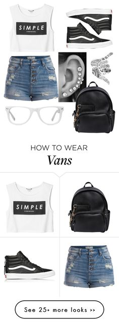 """""""#vans"""" by candyhearts1360 on Polyvore"""