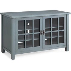 """Better Homes and Gardens Oxford Square Blue TV Stand and Console for TVs up to 55"""" - Walmart.com"""