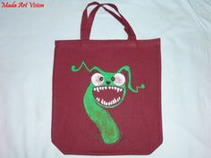 Bag with monster