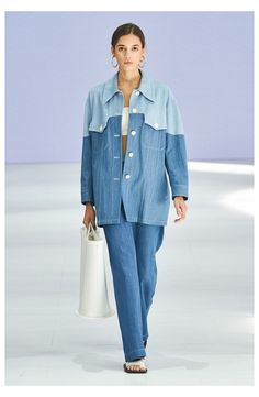 Denim Fashion, Runway Fashion, Fashion Show, Fashion Outfits, Vogue Paris, Estilo Denim, Mode Jeans, Denim Ideas, All Jeans