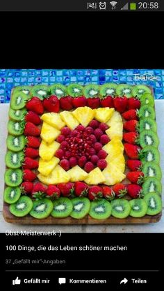 New fruit party platters snacks ideas Party Platters, Party Trays, Party Snacks, Parties Food, Party Desserts, Party Buffet, Fruits Decoration, Salad Decoration Ideas, Fruit Creations