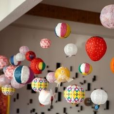 Japanese Paper Balloons Collection to Brighten Up Winter Doldrums.