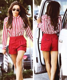 Naya Rivera out and about with new hair highlights. *i just died*