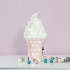 Image result for ice cream lamp