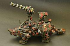 Zoids EZ-004 Redhorn Ver.sangmin Sculpture Art, Sculptures, Fantasy Model, Medieval Armor, Plastic Models, Warhammer 40k, Gundam, Scale Models, Transformers