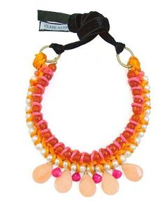 Claire Hynes statement necklace - www.louloumuses.com