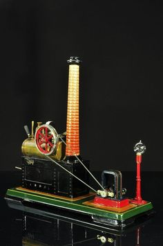 Superb Bing Steam Engine With Dynamo AND Lamp Approx 1925 30   eBay