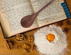 Old cookbook. An old, hand-written cook book with recipes. old recipes , Old Recipes, Vintage Recipes, Cookbook Recipes, Cooking Recipes, Best Photoshop Actions, Cookery Books, Old Fashioned Recipes, Stock Image, Vintage Cookbooks