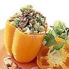 Een heerlijk recept: Oranje paprikas gevuld met gehakt