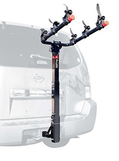 Allen Sports Deluxe 3 Bike Jeep Wrangler Hitch Mount Rack with Receiver