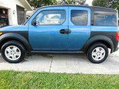 Make:  Honda Model:  Element Year:  2007   Exterior Color: Blue Interior Color: Gray Vehicle Condition: Good  Phone:  561-400-5367 For More Info Visit: http://UnitedCarExchange.com/a1/2007-Honda-Element-201938231126
