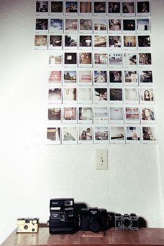 I want a Polaroid wall