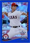 For Sale: 2014 Topps Opening Day YU DARVISH Blue Foil Variation Texas Rangers 1983/2014 http://sprtz.us/RangersEBay
