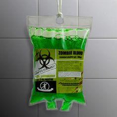 Zombie Blood Shower Gel II - Green: Image 2