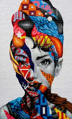 Tristan Eaton is a graffiti artist, street art muralist, illustrator, and toy designer. Born in Los Angeles in Tristan began pursuing street art as a teenager, painting everything from walls to billboards in the urban landscape. Arte Pop, Banksy, Pop Art, Urbane Kunst, Street Art Graffiti, Graffiti Face, Graffiti Artwork, Graffiti Artists, Graffiti Lettering