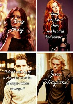Mortal Instruments #clace #shadowhunters tumblr