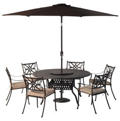 Look what I found on Wayfair! Garden Dining Set, Beautiful Homes, Cushions, Patio, Armchairs, Outdoor Decor, Table, Furniture, Summer