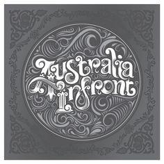 Australia Infront by bobsta14, via Flickr #typo #lettering #typography #logo #design