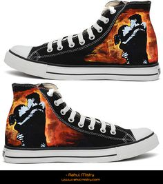 The most beautiful Converse pair I have ever laid eyes on.