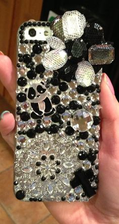 Panda Blingy iPhone 5 case