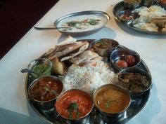 indian food: the best.