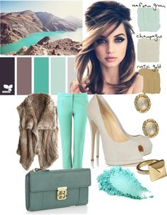 """Figi Teal"" by astrauss015 ❤ liked on Polyvore"
