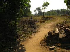 the road to my village