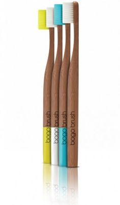 Mit der Zahnbürste bogobrush richtig umweltfreundlich Zähne putzen